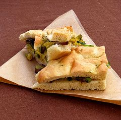 http://www.masteringtheflame.com/ - Grilled Vegetable Panini