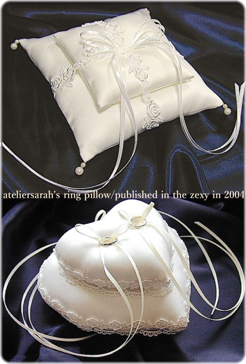 ateliersarah's ring pillow/Zexy2004