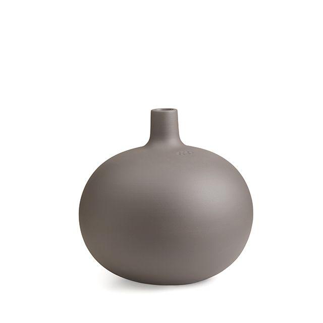 Globo Candlestick Grey Medium