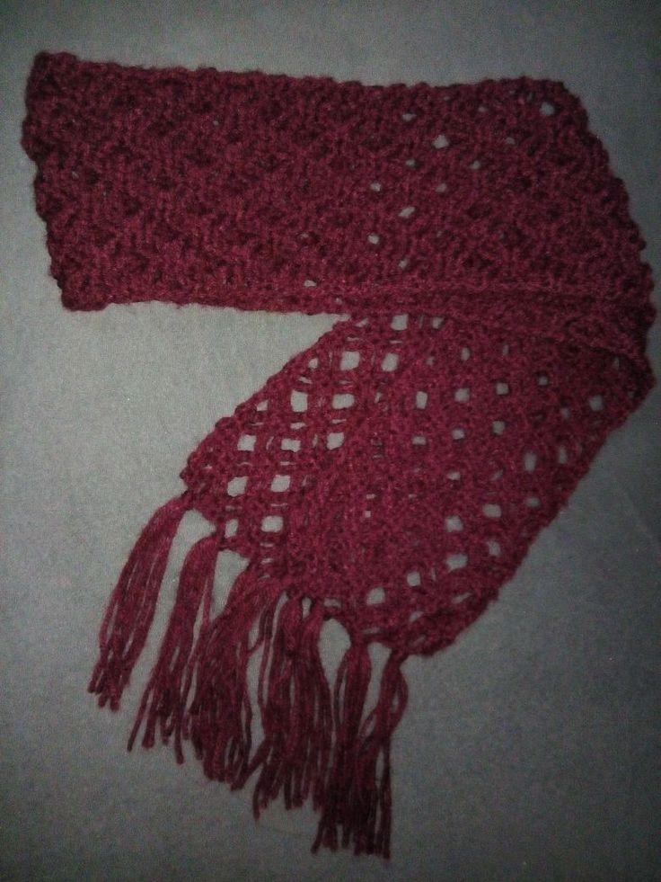 Scarf crochet for girls