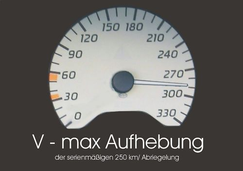 MH-DEZENT V max Aufhebung  Leistungssteigerung Mercedes CL 500 V8 Biturbo W216