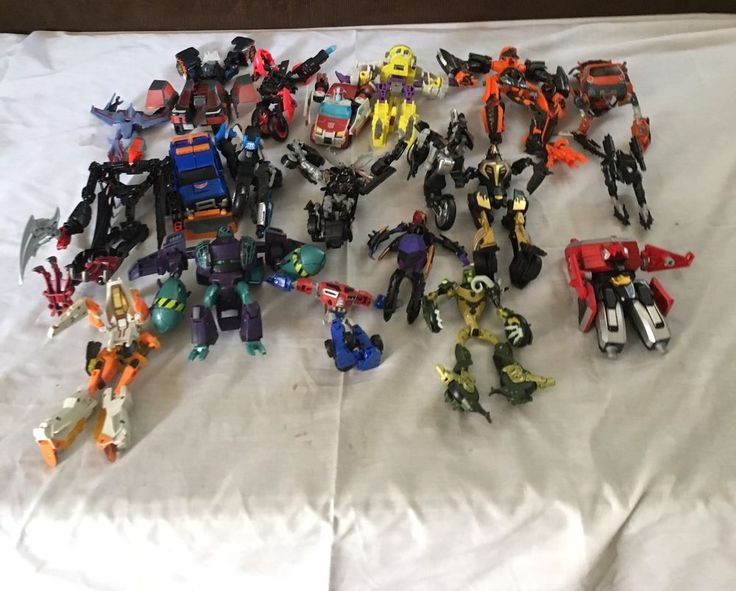 Lot Of 20 Mixed Transformers Action Figures Autobots & Decepticons Group C  | eBay