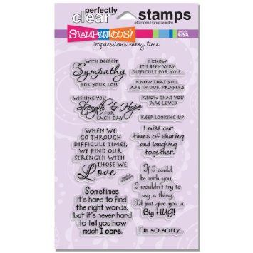 Amazon Com Stampendous Ssc1117 Perfectly Clear Stamp