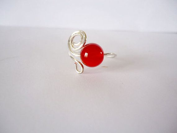 Hey, I found this really awesome Etsy listing at https://www.etsy.com/il-en/listing/250147403/red-stone-ring-red-agate-ring-beaded-red