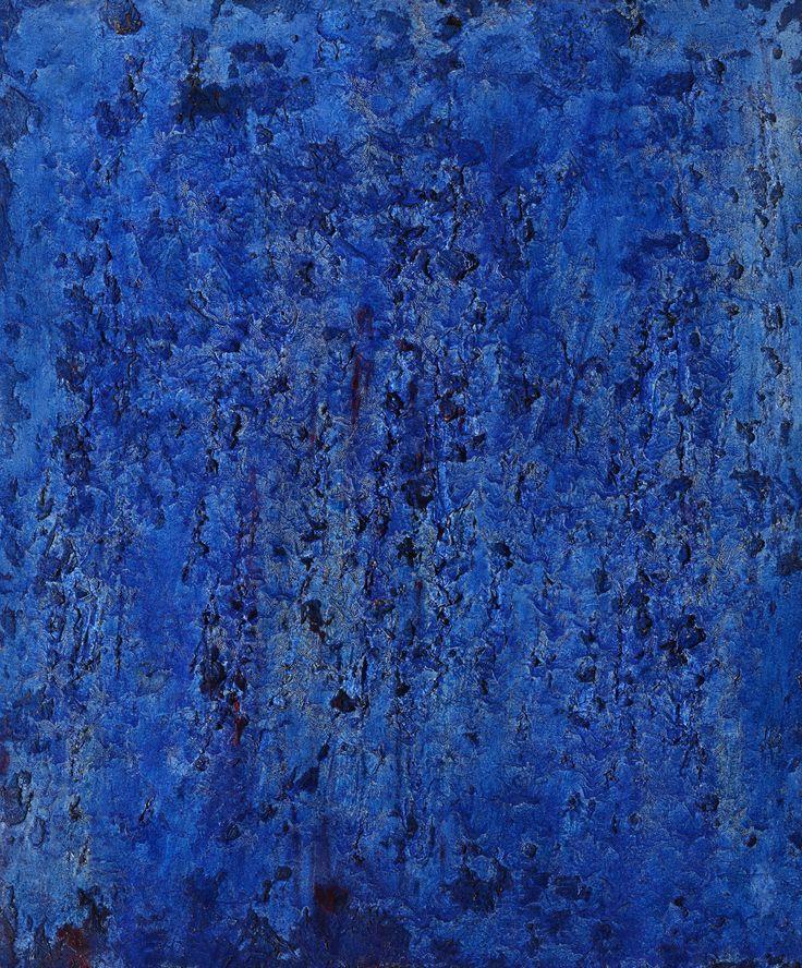 Francois Fiedler Untitled, 1959 oil, mixed media on canvas 46x38 cm Maklary