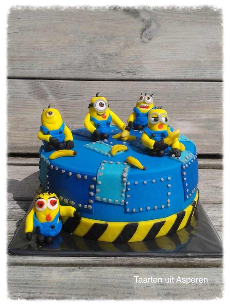 Een minions taart!