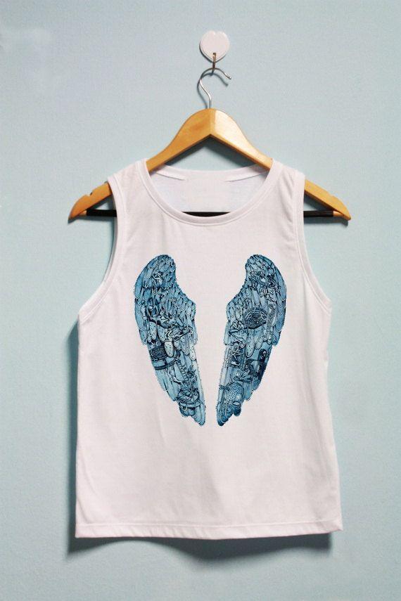 beautifull! Coldplay album cover shirt!!♡♥♡♥