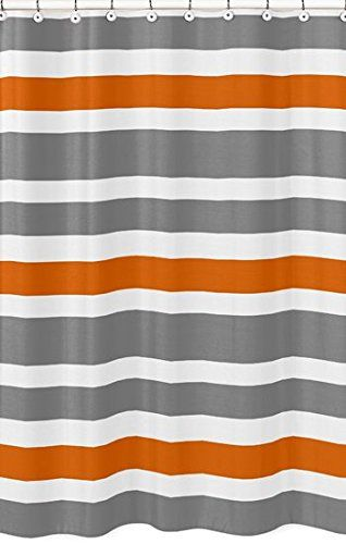 Gray, Orange and White Kids Bathroom Fabric Bath Teen Str... http://www.amazon.com/dp/B00VQGAQSI/ref=cm_sw_r_pi_dp_hiSkxb12Z3737