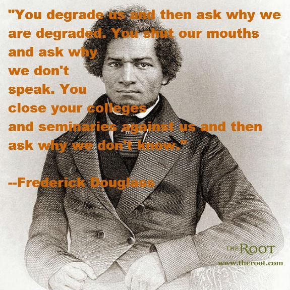 Best Black History Quotes: Frederick Douglass on Systemic Oppression
