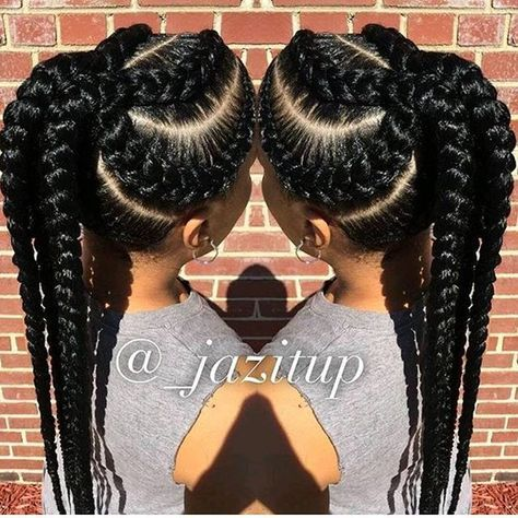 Omg,so neat beautiful braids ,hair goal!!!