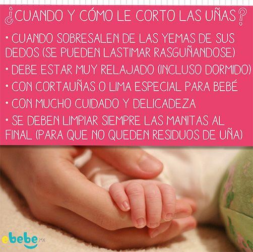 Cuando y como cortarle las uñas a tu bebé? #cuidado #RecienNacido #tip #ebebe