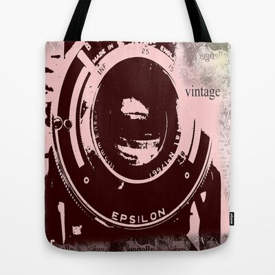 Vintage Camera - Tote Bag on Society6  #tote #bags #society6