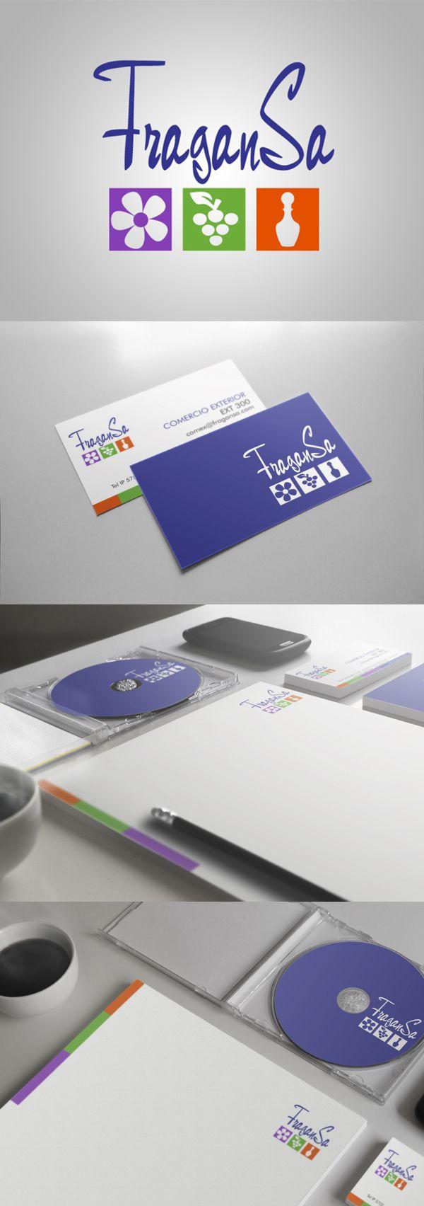 corporate identity / Fragansa