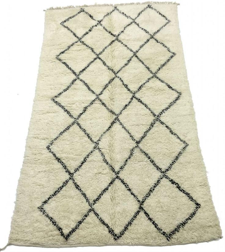 Kelim Marokkaanse Berber tapijt Beni Ouarain 335 x 190 cm