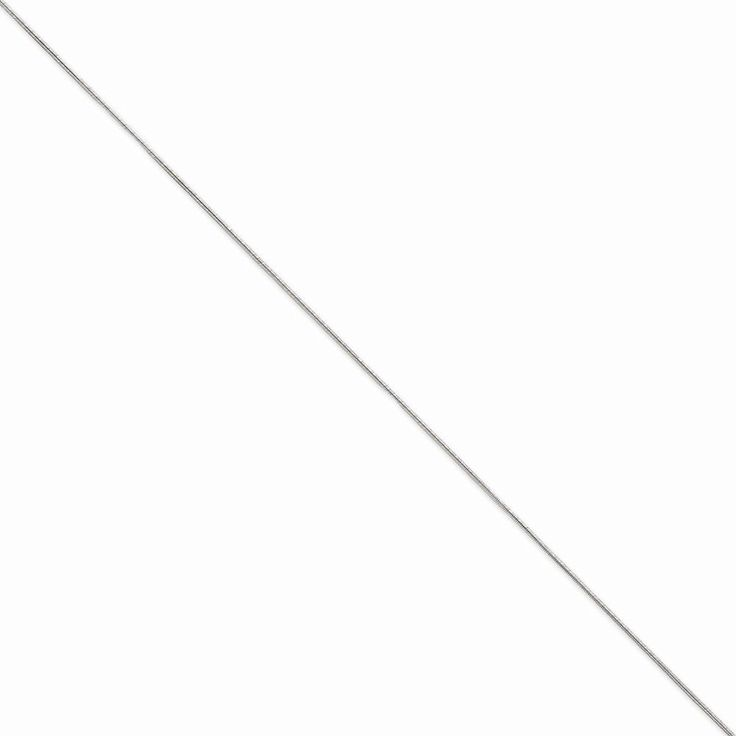 14k White Gold 0.90mm Round Snake Chain Anklet 9 Inch >>> You can find out more details at the link of the image. (This is an Amazon Affiliate link and I receive a commission for the sales)