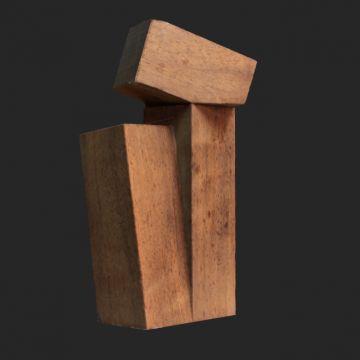 ORTEIZA Elemento ternario con cuboide vacío (1972)