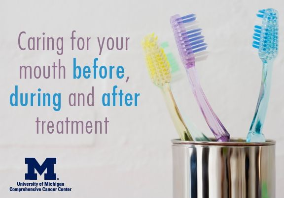 Chemotherapy and radiation therapy can be hard on your mouth. Here are some tips that can help.  #TakeThemAMeal.com