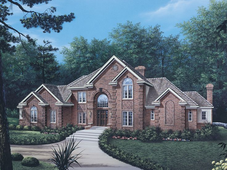 Best 25 two story homes ideas on pinterest dream house for Luxury european home plans