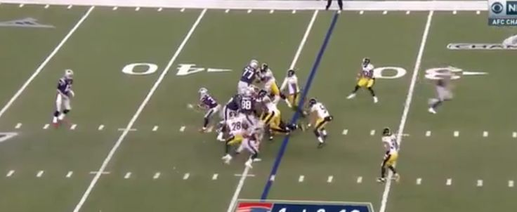 WATCH: Patriots complete successful flea flicker for TD = New England Patriots wide receiver Chris Hogan has caught two first-half touchdown against the Pittsburgh Steelers in the AFC Championship game, the second of…..
