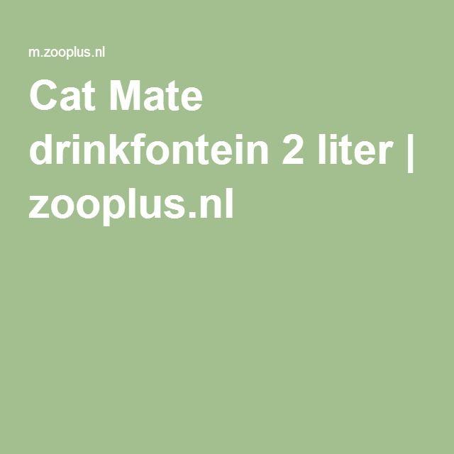 Cat Mate drinkfontein 2 liter   zooplus.nl