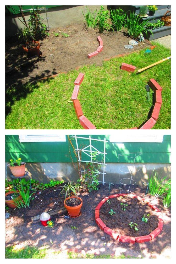 Creative Uses for Leftover Bricks Gardening Ideas, Tips ...