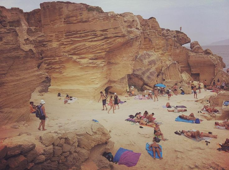 #Isola di #favignana #buemarino #cave di #tufo #yellow #mood #sand #mediterranean #summer2015 #estate #vacation #aidaholidayhome_place #siciliabedda #travel #ig_sicily #igersicilia #instatravel #instacool #instagramer #sicilia