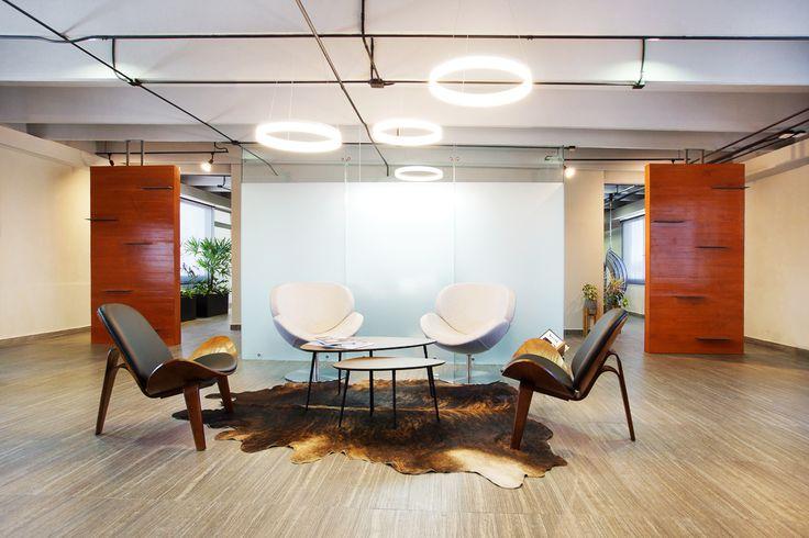 Oficinas ER | Dionne Arquitectos | #office #furniture #lighting #wood #interior #design #light