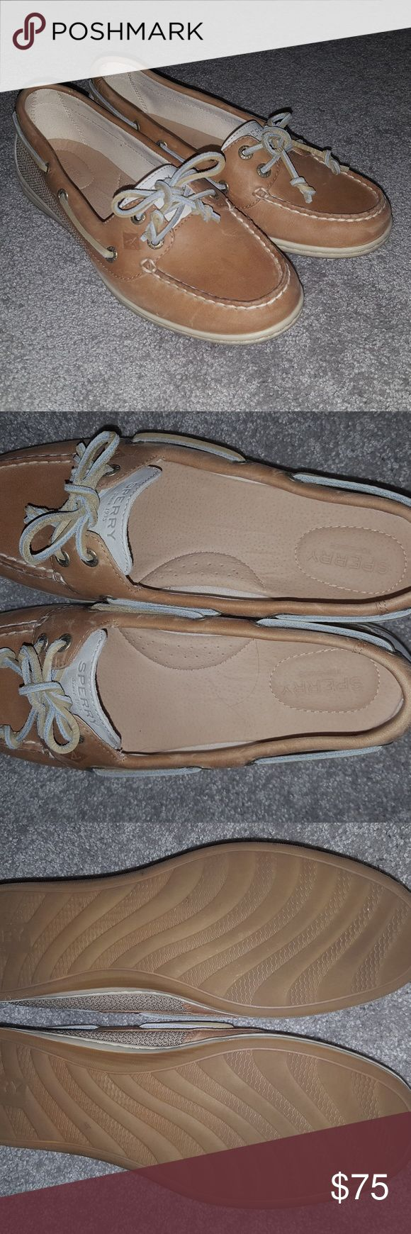 Sperry Women's Angelfish Boat Shoes NEVER WORN, BRAND NEW, SIZE 8.5 Email me if interested! Flowergirlz116@aol.com Sperry Shoes Flats & Loafers