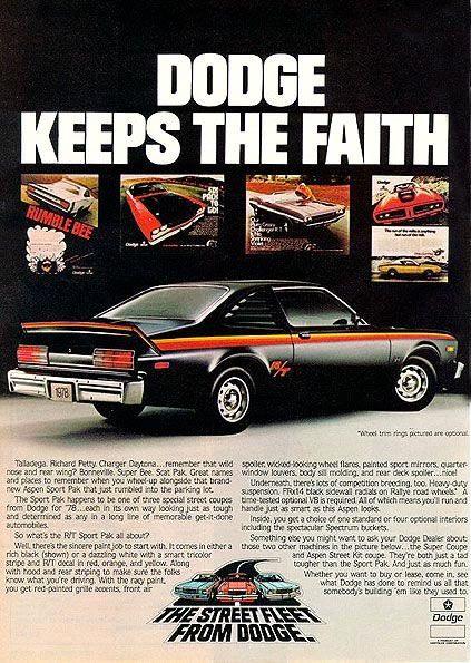 1976 Dodge Aspen RT Superpak