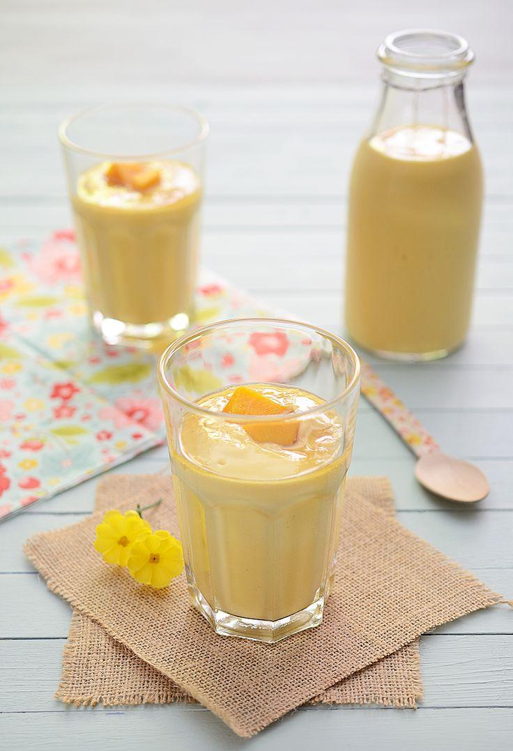 ¡Qué cosa tan dulce!: Lassi de mango