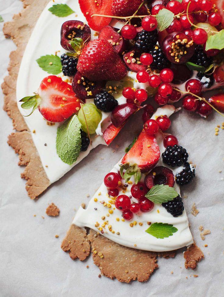 Summer Celebration Fruit Tart | My New Roots | Bloglovin'