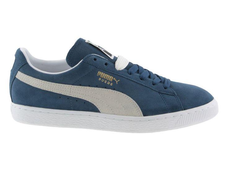 Puma Suede classic scarpe casual uomo blu modello 35263401