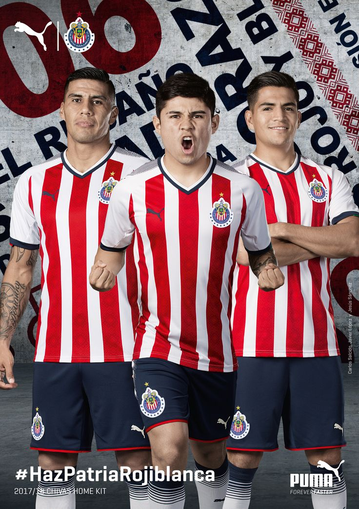 The 2017/18 Puma Chivas Home Jerseys are here! Get yours now. Shop > http://www.soccerpro.com/Chivas-Guadalajara-c198/