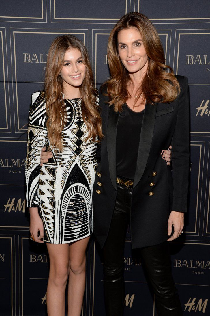 Pin for Later: 11 Reasons Cindy Crawford Will Always Be Our Style Icon She Built a Fashion Empire Cindy's daughter, Kaia Gerber, is a model at age 14 — just like her mum.