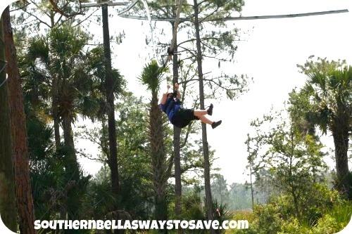 Zipline Rollercoaster in Kissimmee Florida!