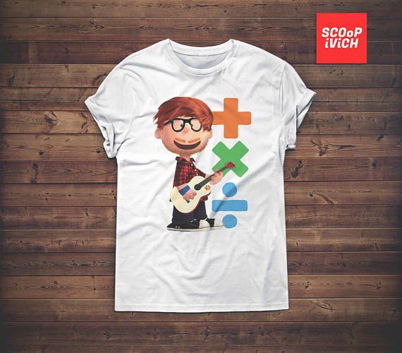 Ed Sheeran Plus X Divide Short-Sleeve Unisex T-Shirt x Cute