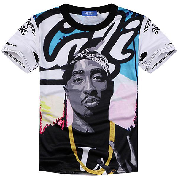 Grab the Cali Tee, a graphic printed top with a dope Tupac t shirt design as part of our mens clothing collection. Free shipping worldwide!