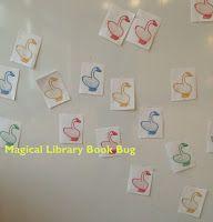 Magical Library Book Bug: Duck, Duck, Goose Preschool Storytime
