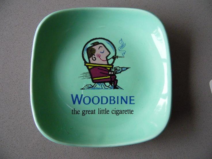 Woodbine Smoking Spaceman with Rocket Ashtray + Cards | eBay