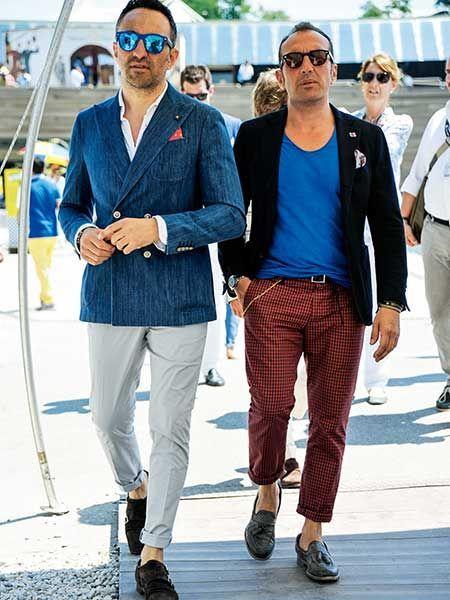 あなたはシャツ派? Tシャツ派? ぜひ学ぶべき夏ジャケットのこなし方  | メンズファッションの決定版 | MEN'S CLUB(メンズクラブ)
