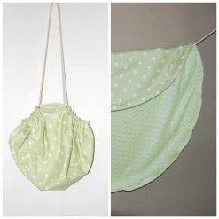 Moochi play bag green
