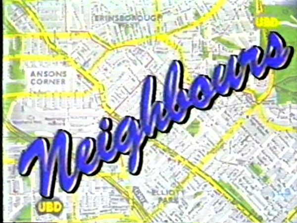 Neighbours- Australian soap opera this is painful, but I will say every one I knew watched it back then! I will make this very clear, I watch it no more : D
