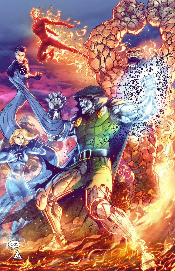 Fantastic Four vs. Doctor Doom.........