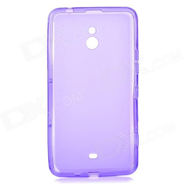Color: Translucent Purple; Brand: N/A; Model: LX-1320; Material: TPU; Quantity: 1 Piece; Shade Of Color: Purple; Compatible Models: Nokia Lumia 1320; Other Features: Protects your device from scratches, dust and shock; Packing List: 1 x Protective case; http://j.mp/1toG5ZK