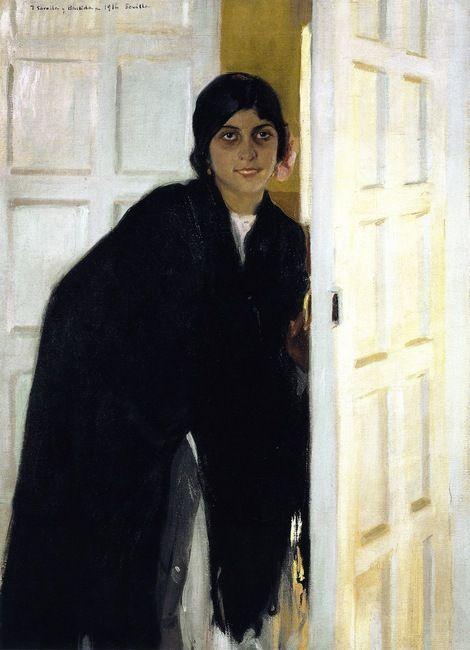 Joaquín Sorolla y Bastida, Young Andalusian Girl, 1914