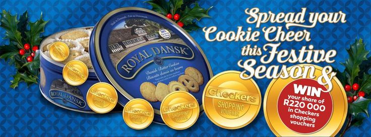 End your year on a sweet note. Stand a chance to win with Royal Dansk SA and Checkers.