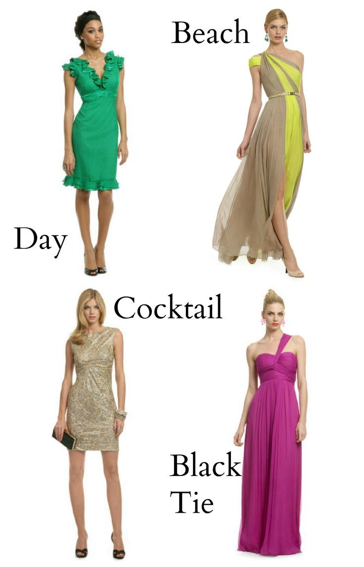 Chic Wedding Guest Attire : Wedding guest attire rent the runway my style glam n