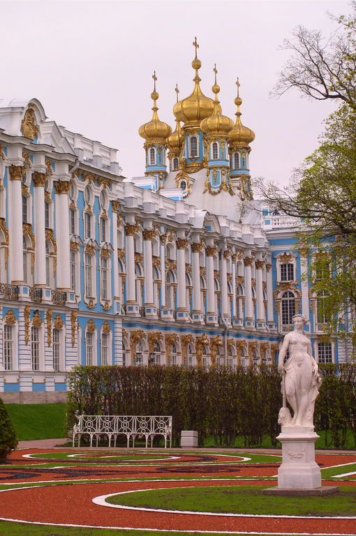 Catherine Palace (1752-1756), Pushkin, Russia pictures on theredlist.com