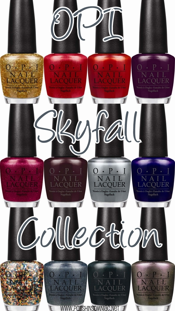 Opi skyfall collection casino royale