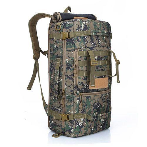 Military Tactical Backpack Hiking Camping Daypack Shoulder Bag Men's Hiking Rucksack Back Pack 50L